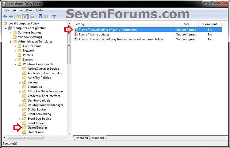 Games Explorer - Downloading Game Information - Enable or Disable-gpedit-1b.jpg