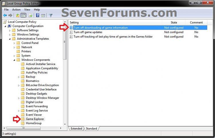 Games Explorer - Downloading Game Information - Enable or Disable-gpedit-2b.jpg