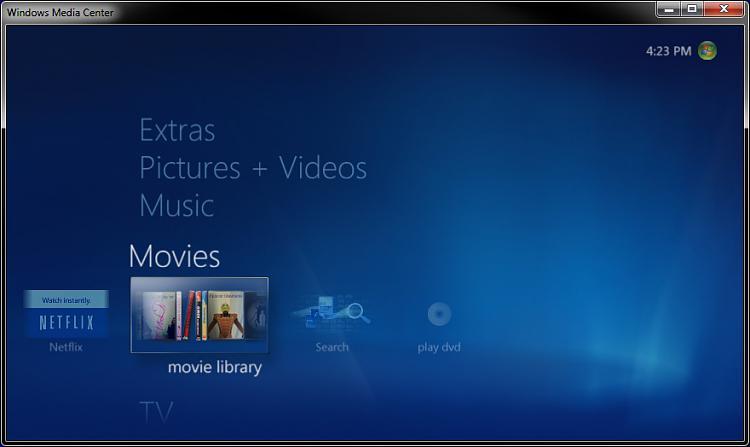 Windows Media Center - Recorded TV - Create Shortcut-movies.jpg