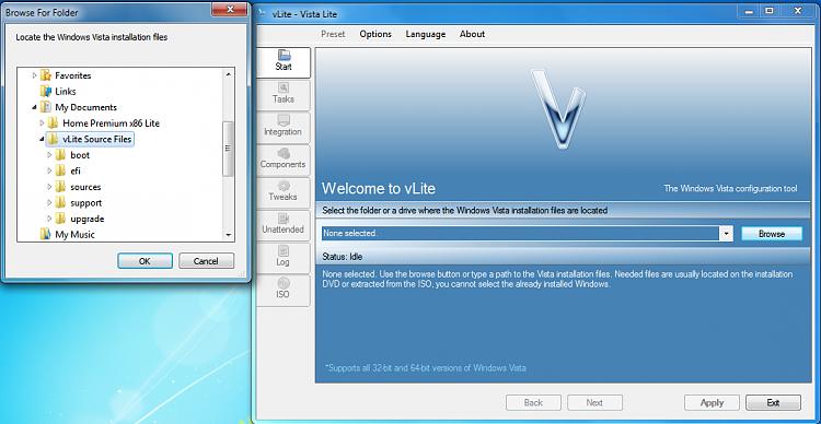 Custom Windows Installations - Windows 7-vlite-interface.png