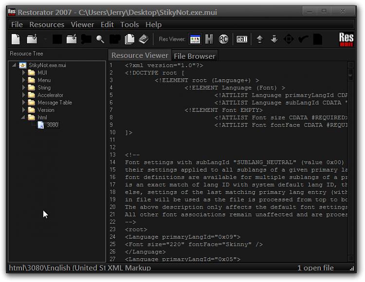 Sticky Notes - Change Default Font-restorator-2007-cusersjerrydesktopstikynot.exe.mui.png