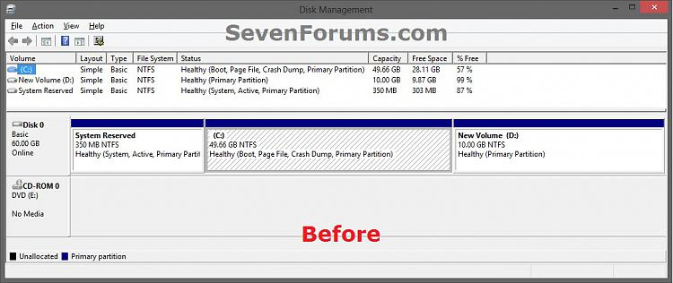 VMware Player - Expand Virtual Machine Hard Disk-vm_before.jpg
