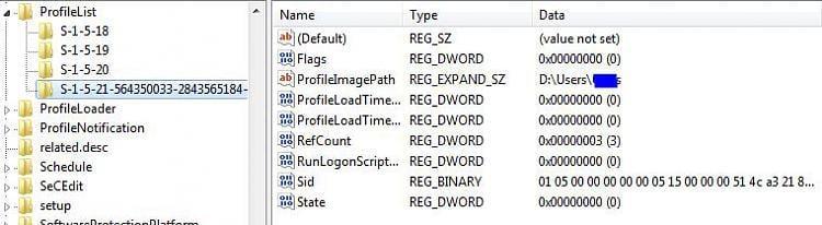 User Profile Service failed the logon. User profile cannot be loaded.-profilelist4.jpg