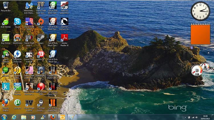 Gadgets not Displaying Correctly in Windows 7 - Fix-desktop.jpg