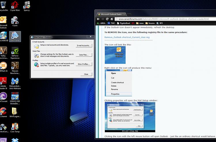 Microsoft Outlook Desktop Shortcut - Create-outlokk-test.png