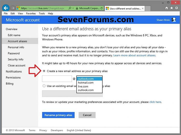 Microsoft Account Primary Alias Email Address - Change-microsoft_account_change_primary_alias-5.jpg