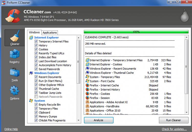 CCleaner - Delete Junk Files-success-clean.png