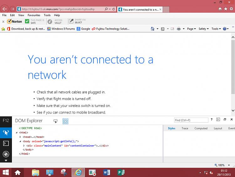 Internet Explorer F12 Developer Tools - Enable or Disable-f12-001.png