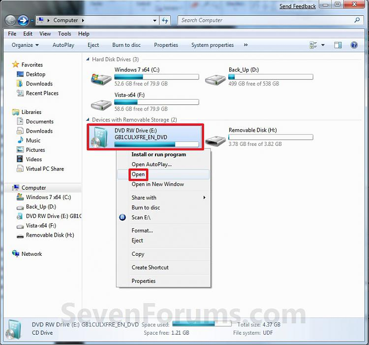 USB Windows 7 Installation Key Drive - Create-open.jpg