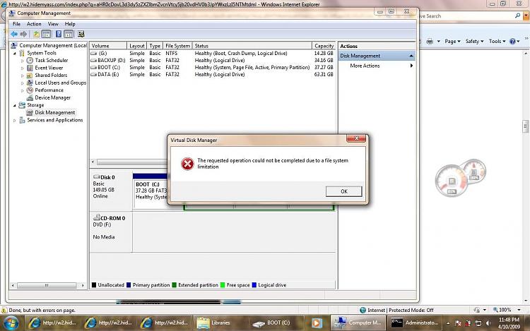 Virtual Hard Disk - Create and Attach VHD - Windows 7 Help Forums