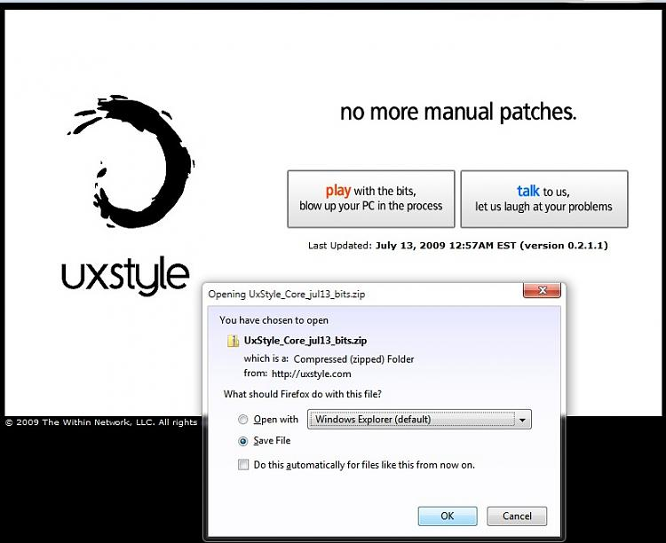 Enabling Custom Themes - Windows 7-uxstyle.jpg