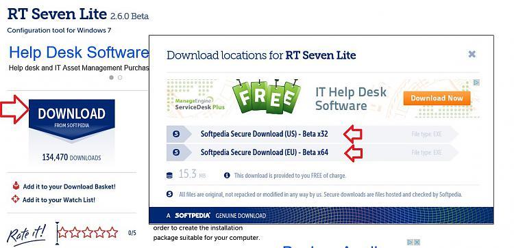 Slipstream Windows 7 SP1 into a Installation DVD or ISO File-softpedia.jpg