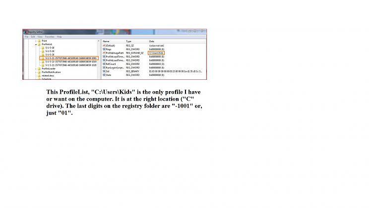 User Profile - Change Default Location-regedit-kids-entry.jpg