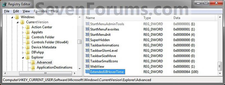 Taskbar Thumbnail Previews - Change Delay Time-reg3.jpg