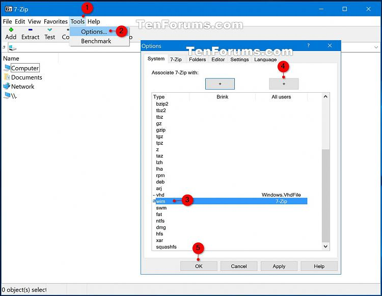 Extract Files from Windows 7 Installation DVD-7-zip.jpg
