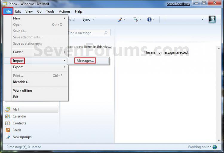 Windows Live Mail - Import Windows Mail Messages-step1.jpg