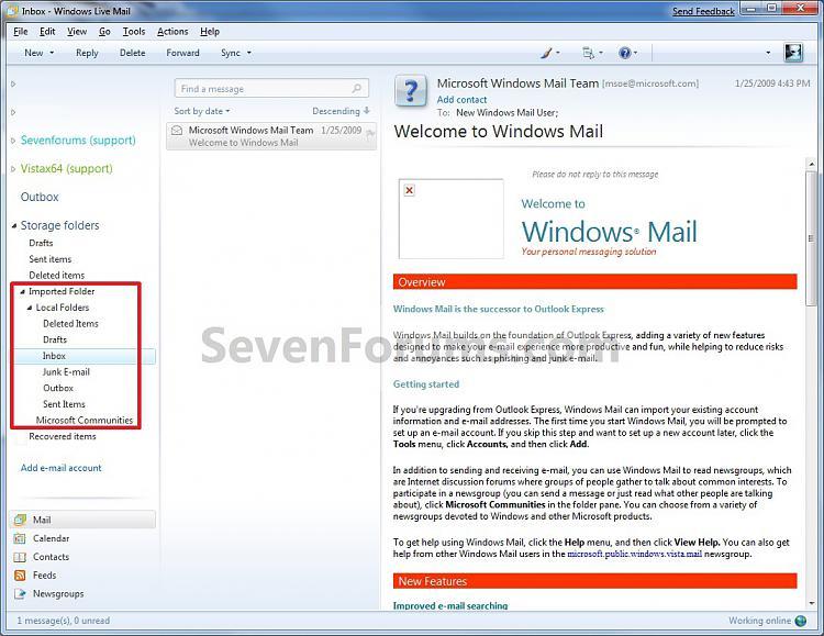 Windows Live Mail - Import Windows Mail Messages-step7.jpg