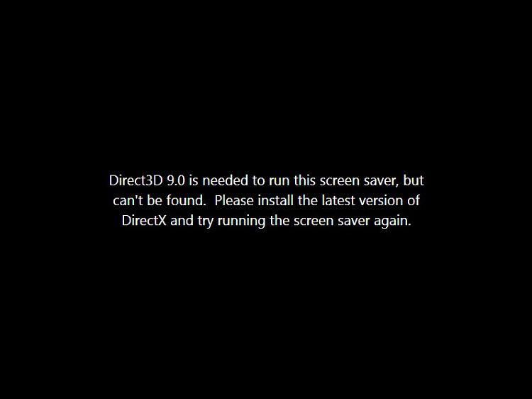 directx version 9 0