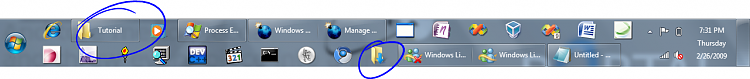 Taskbar - Pin or Unpin a Program-test1.png