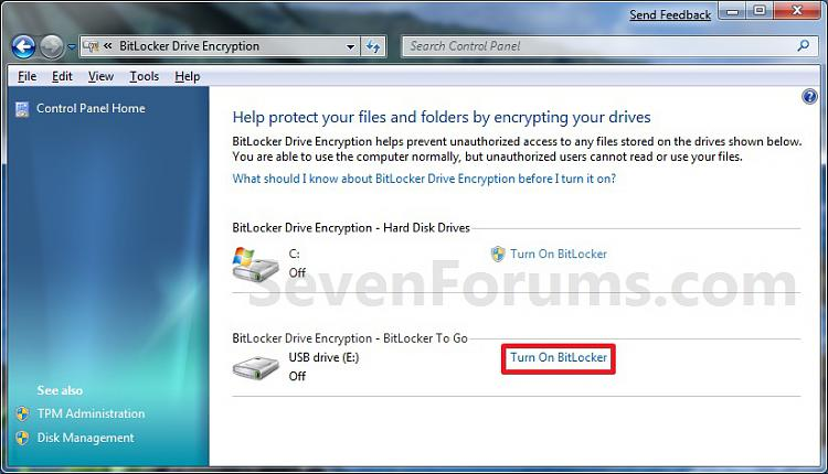 BitLocker Drive Encryption - BitLocker To Go - Turn On or Off-control_panel_2.jpg