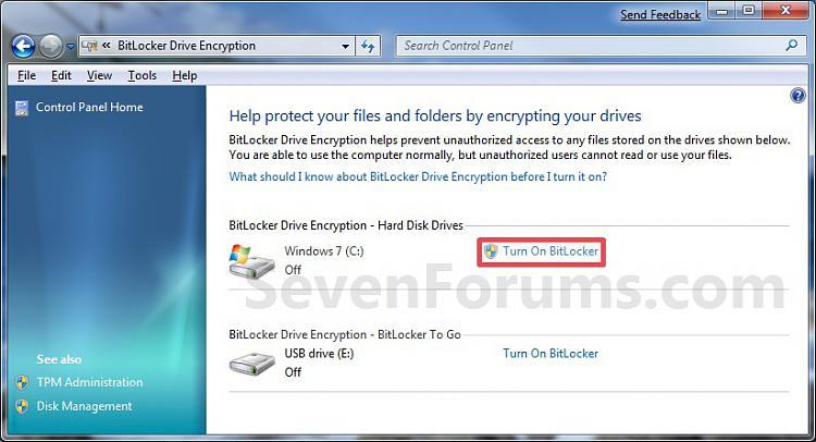 BitLocker Drive Encryption - Windows 7 Drive - Turn On or Off with no TPM-step1.jpg