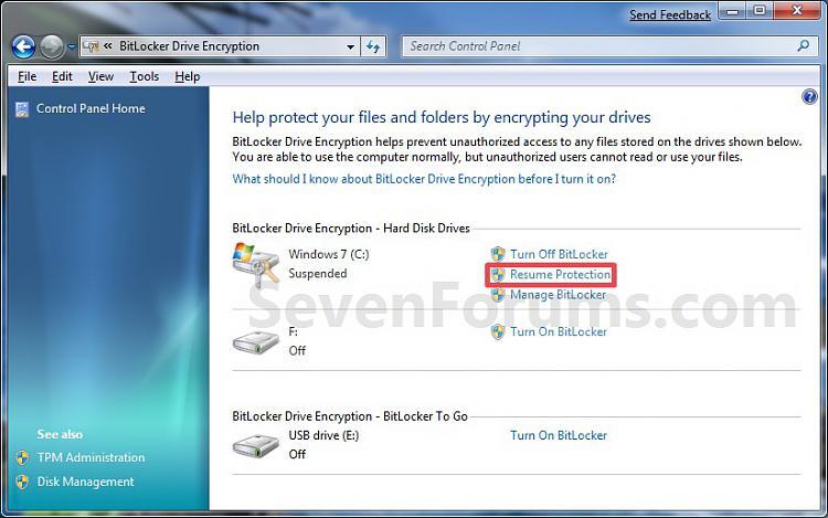 BitLocker Drive Encryption - Suspend or Resume Protection on Windows 7 Drive-resume-2.jpg