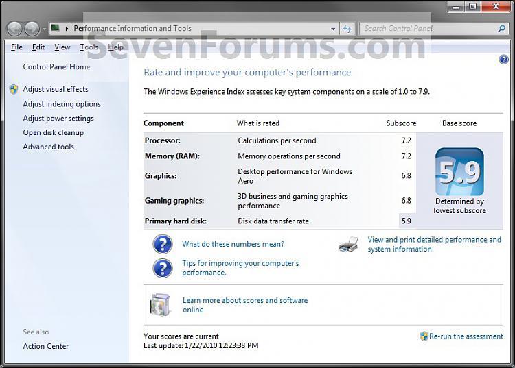Windows Experience Index Shortcut - Create-wei.jpg