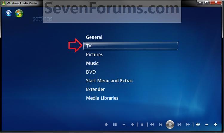 Windows Media Center Closed Captions - Turn On or Off-step2.jpg
