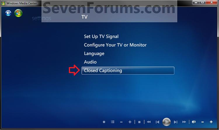 Windows Media Center Closed Captions - Turn On or Off-step3.jpg