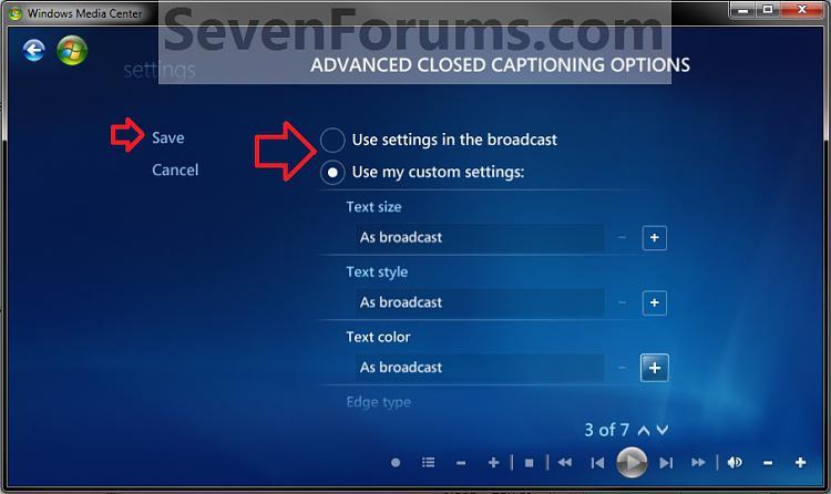 Windows Media Center Closed Captions - Turn On or Off-advanced2.jpg