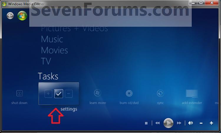 Windows Media Center DVD Subtitles - Turn On or Off-step1.jpg
