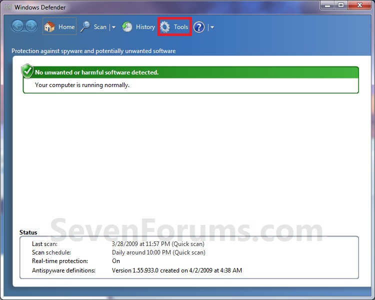 Windows Defender - Turn On or Off-step1.jpg