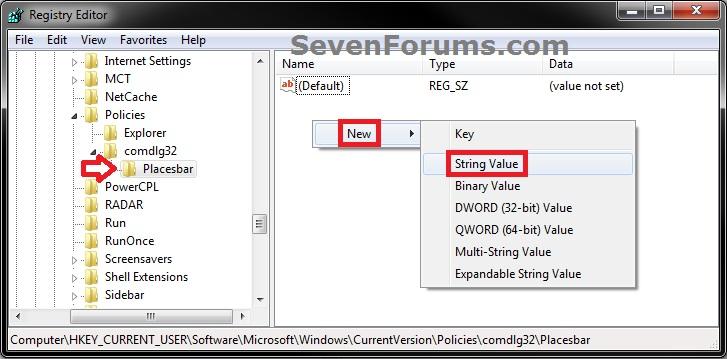 Common File Dialog Box - Customize Places Bar-reg4.jpg
