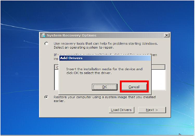 Copy paste in windows recovery console windows 7 help forums - Console de recuperation windows 7 ...