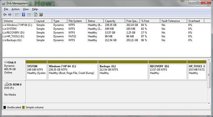 Convert a Dynamic Disk to a Basic Disk-disks.jpg