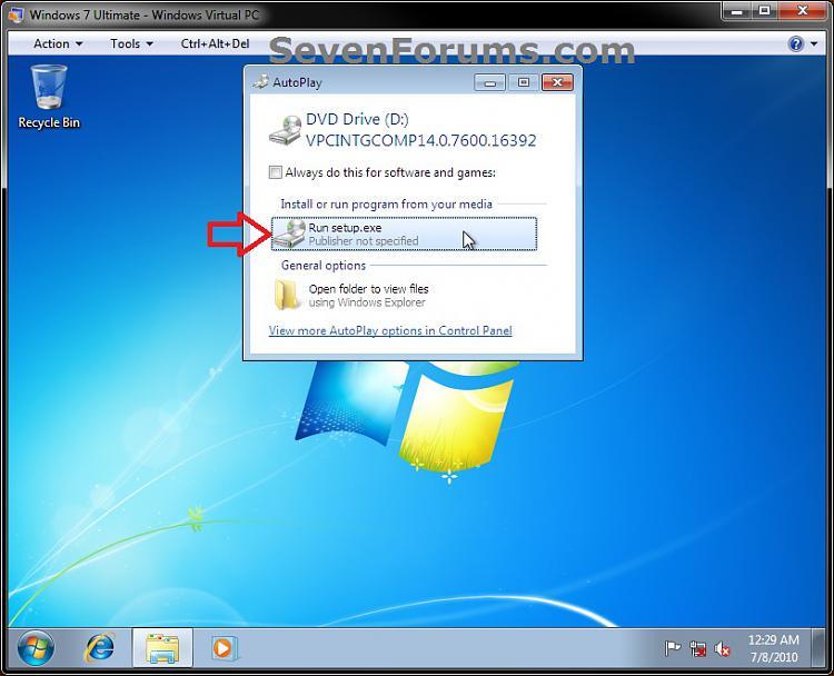 Windows Virtual PC - Connect Virtual Machine to Network-step1c.jpg