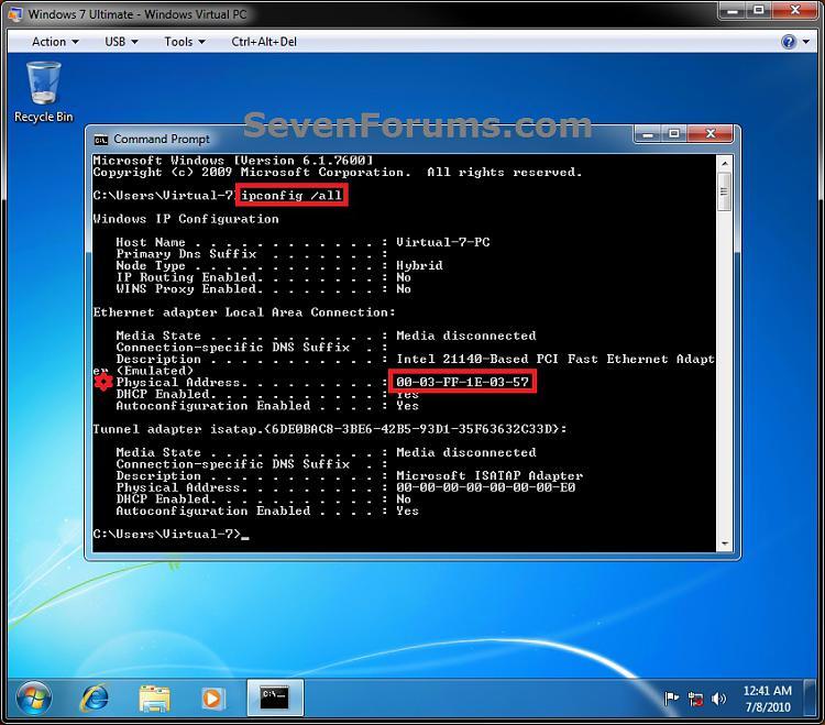 Windows Virtual PC - Connect Virtual Machine to Network-step3.jpg