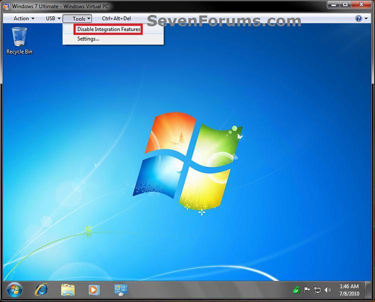 Windows Virtual PC - Connect Virtual Machine to Network-disable.jpg