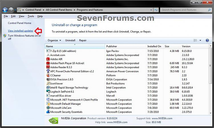 Windows 7 Service Pack 1 (SP1) - Uninstall-step1.jpg