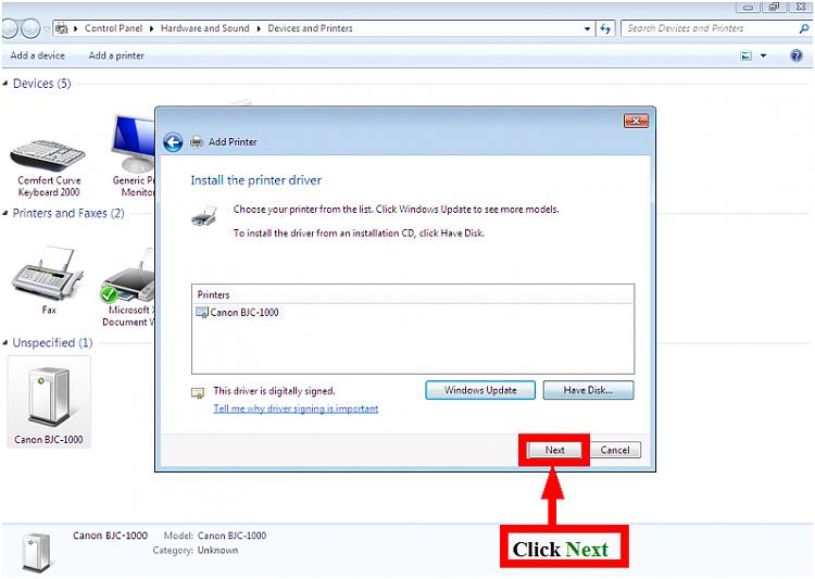 How To Install Printer Drivers On Windows Vista