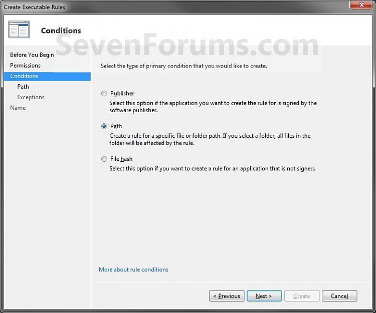 AppLocker - Create New Rules-step6-path-1.jpg
