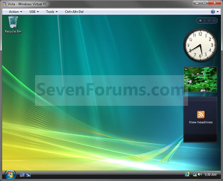 Windows Virtual PC - Create Virtual Machine-example.jpg