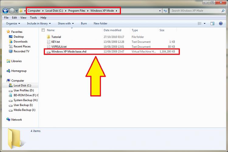 MOVE a Virtual XP Machine in Windows 7 - Windows 7 Help Forums