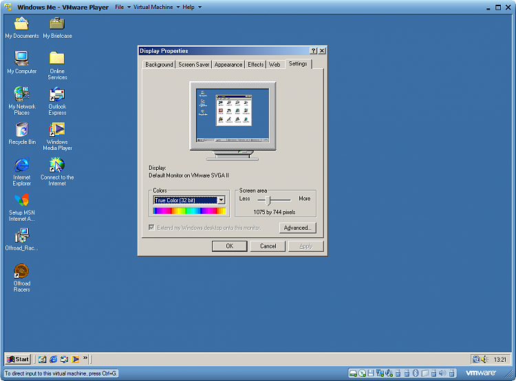 vmware virtual machine free  windows 7