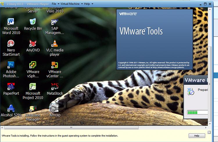 Vmware - Could not find component on update server.-vmwaretools.png