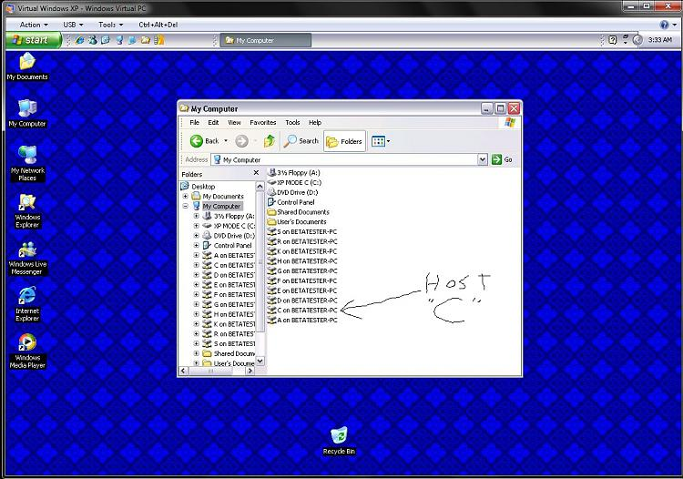 Virtual PC seeing hosts HDD locally-vpc-drives-shown.jpg