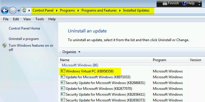 Windows XP Mode refuses to setup-region2.png