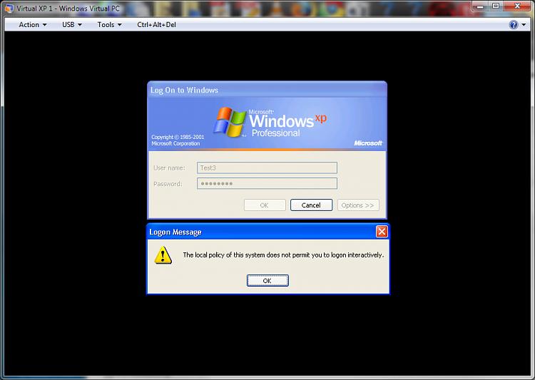 Adding limited user accounts to Virtual PC XP Mode-xpmode_newuser_nopermission.png