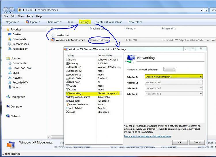 Windows 7 Ultimate Virtual XP USB drivers-xp-vm-settings.jpg