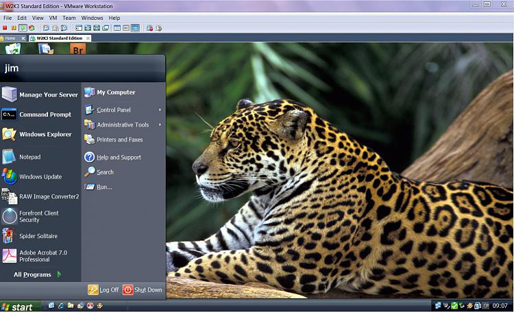 A Tip on increasing Graphics VRAM in a VMWare WM-w2k3vm.jpg